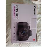 Canon Eos 800d (t7i) Nueva Lente 18-55mm