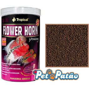 Tropical Flower Horn Young Pellet 380g P/ Flowerhorn Filhote
