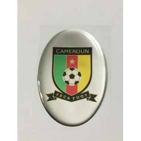 a3974471de Adesivo Resinado Do Escudo Da Seleção De Camarões De Futebol · R  19 58