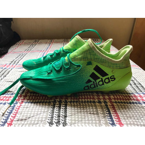 Chuteira Campo adidas X 16.1 Fg Masculina - Verde E Preto b1d48ad0e9eac