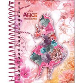 Agenda 2019 Alice In Wonderland Esp 54007 4p Jandaia