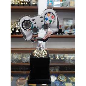 Troféu Videogame - Controle Gamer Grande