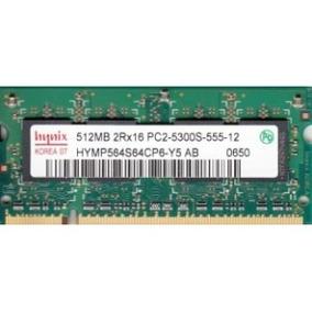 Memoria Ram 512mb Hynix 2rx16 Pc5300 Ddr2