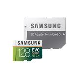 Tarjeta Memoria Microsdxc Evo Samsung 128gb 100mb/s Clase 10