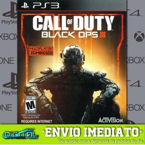 Call Of Duty Black Ops 3 Ps3 Psn Game Digital Envio Rápido.
