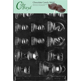 Cybrtrayd M033 Piezas De Ajedrez Chocolate Candy Mold Con Ex