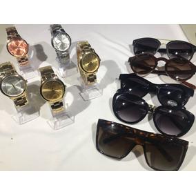1cbc4e07ec079 Kit Relogio Feminino Mais Oculos - Relógio Feminino no Mercado Livre ...