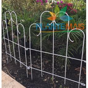 Cerca Para Jardim - Pintura Eletrostática