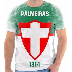 8f9c799810 Escudo Palmeiras Silk - Camisetas e Blusas no Mercado Livre Brasil