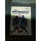Wii Epic Mickey 2 Power Of Two