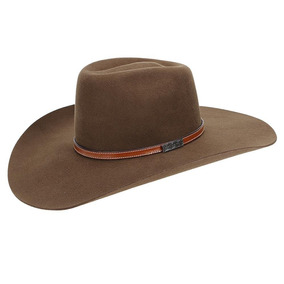 Chapéu Country De Feltro Marrom Texas Diamond Copa Alta 2100 34245f52be0