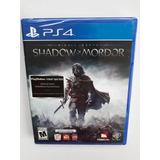 Shadow Of Mordor Juego Ps4 Nuevo Y Sellado