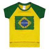Blusa Brasil Japurá Braziline Infantil Feminina Original 897457f4ca03c