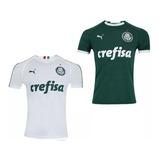 Kit 2 Camisa Do Palmeiras Verdão Nova 2019 Palestra Unif 1 2
