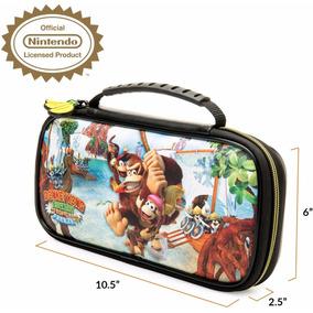 Estuche Deluxe Travel Case Donkey Kong Nintendo Switch