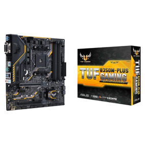 Placa Mãe Asus Tuf B350m-plus Gaming Amd Ryzen Am4 Ddr4 B350