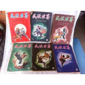 Lote De 6 Gibi Japonês Antigo Revista