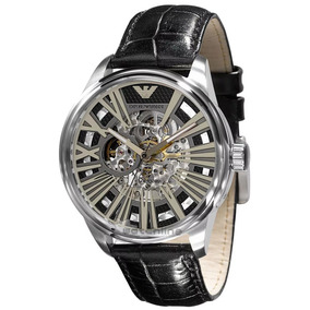 9732533bc04f1 Relógio Empório Armani Ar4629 Mecanico Automático, Original