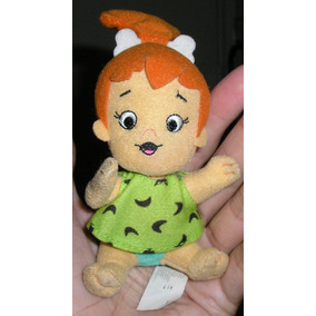 Muñeco Pebbles Tipo Peluche Los Picapiedras Mc Donalds