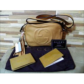 fc77bcf0e3e29 Bolsa Couro Legitimo - Bolsas Gucci de Couro no Mercado Livre Brasil