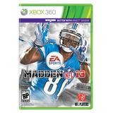 Madden 13 Xbox 360 Usado Incluye Manual