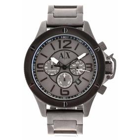cb824d6a207 Pulseira Armani Exchange Ax 1165 Cinza - Relógios De Pulso no ...