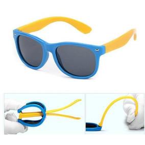 0bf3c4810c642 Oculos De Sol Flexivel Infantil Criança Polarizado Unissex