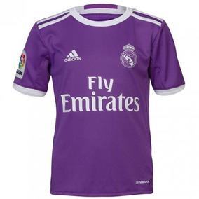 Camiseta Violeta Real Madrid Para Equipos De Futbol - Camisetas en ... af986b8f508d3
