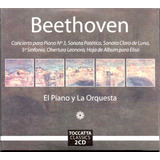 Beethoven El Piano Y La Orquesta 2 Discos Cd