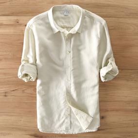 Camisa Social Masculina Em Cores Lançamento # J601
