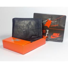 Cartera Billetera De Piel Para Caballero Marca Nike