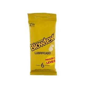 Kit C/ 9 Preservativo Blowtex Lubrificado Lv6 Pg4