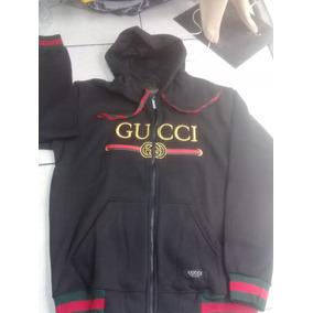 Ropa Abrigo Buzos Gucci /gris Negro Busos/ Buzo