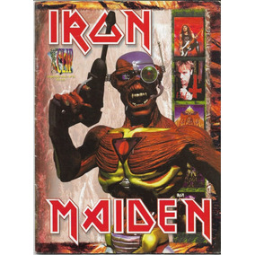Revista Graphic Clip Nº13 Iron Maiden