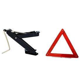 Kit Macaco E Triângulo De Segurança Para Veículos