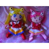 Sailor Moon Chibi Moon Peluches A Pedido Anime Navidad