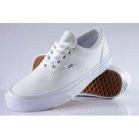 d9e22544635 Tenis Branco Feminino Casual Vans Era - Calçados