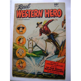 Real Western Hero Vol.1 N°75 Feb 1949 Fawcett Publications