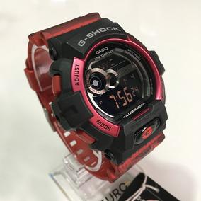 87da5df74fc Relógio Digital Casio G Shock Preto E Vermelho - Relógios De Pulso ...