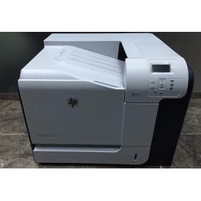 Impressora Hp Laserjet 500 Color M551 Com Toner Cheio!!!!