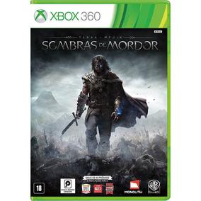 Sombras De Mordor Xbox 360 Português Original Usado