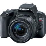 Camara Canon Eos Rebel Sl2 Con Lente Ef-s 18-55mm Is Stm 24.