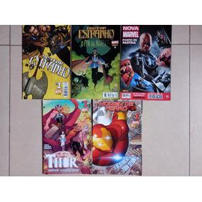 Combo Marvel Comics Panini, 5 Gibis.