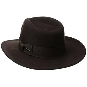 Sombrero Negro Hombre Indiana Jones en Mercado Libre México b92aa54efff