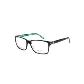Óculos De Grau Masculino Oxydo Em Metal Preto - Cor Preto b31bf5eed6