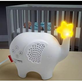Projetor De Luz E Som Bebe Dormir Elefante - Fisher Price