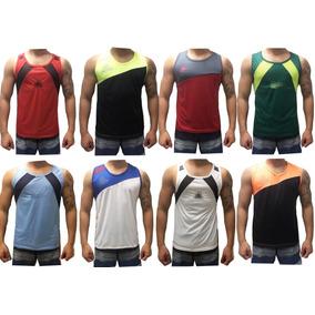 d0e085f9e8 Kit 10 Camisa Masculina Regata Poliéster Dry Fit Esportes .