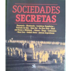 Revista/livro Sociedades Secretas - Frete Grátis