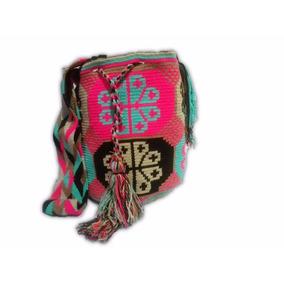 Mochilas Wayuu Colores Neon