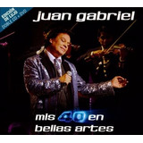 Eam 2 Cds + 1 Dvd Juan Gabriel Mis 40 En Bellas Artes 2014